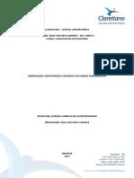 Relatório de Ensino Fundamental e Médio