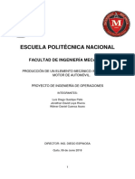 Proyecto Proceso Producción Biela Automovil