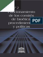 4. Funcionamiento de los comites de bioetica, procedimientos y politicas.pdf