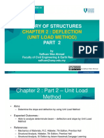 Chapter 2 Part 2 – Deflection Unit Load Method 2017
