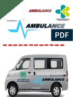 Logo Ambulance Tosca Hitam