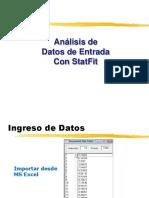 Analisis de Datos Con StatFit
