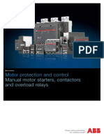 ABB 2014 Main Catalog - Motor Protection and Control