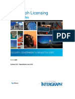 Intergraph Licensing Release Notes
