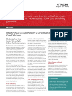 Vsp g Series Hybrid Flash Midrange Cloud Solutions Datasheet