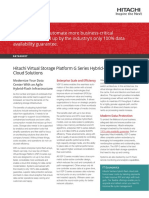 Vsp g Series Hybrid Flash Enterprise Cloud Solutions Datasheet