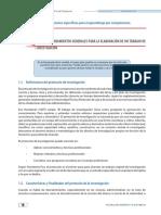 Lineamientos Generales Para La Elaboración de Un Trabajo de Investigación