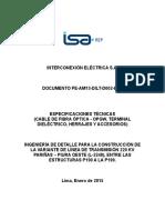 Ingenieria de Detalle de La Linea