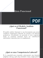 Modelo Analisis Funcional