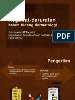4. Kegawat-daruratan Dalam Bidang Dermatologi