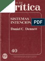 Sistemas Intencionales