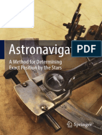Astronavigation a Method for Determining Exact Position by the Stars