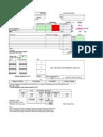 Mix Design Sheet 2014