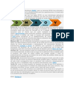 METODOLOGIA DMAIC (DFSS)