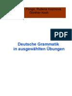 Deutsche Grammatik in Ausgewahlten Ubungen