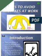 3297Task 3771 - Presentation - Mistakes at Work