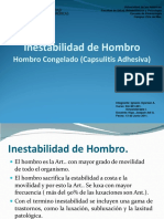 inestabilidaddehombroycapsulitisadhesiva