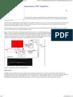 Sensitivity and PSRR Enhancement of RF Amplifiers