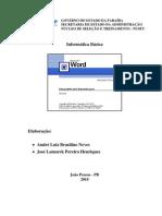 Apostila Word XP Modulo 1