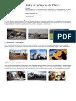 Actividades económicas de Chile 4°