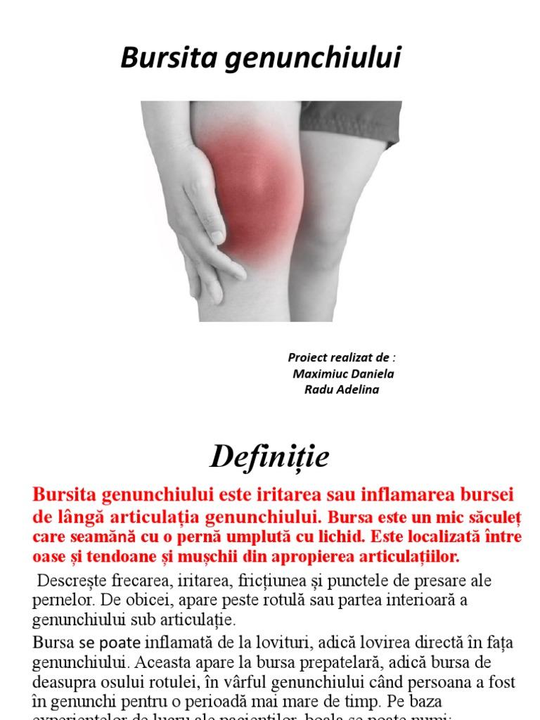 bursită anserină a tratamentului articulației genunchiului)