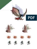 Manual de Monstrous 1 Tokens Pt.4