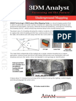 Underground Mapping Example