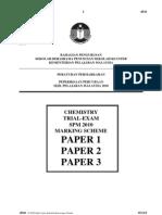 Trial Spm Sbp 2010 Chemistry Marking Scheme