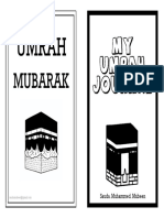 My Umrah Journal