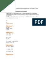 Tarea casos de factorización