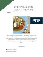 PECHUGA DE POLLO CON ALMENDRAS Y SALSA DE SOJA.docx