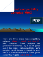5-Major His to Compatibility Complex (MHC)