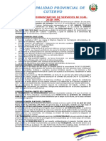 Contrato Administrativo de Servicios Nº 145