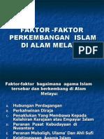 Faktor-faktor Perkembangan Islam(1)