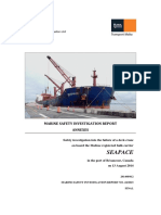 MV Seapace_Final Safety Investigation Report Annexes (Rocking Test)