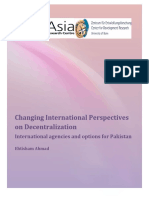 AhmadChangingInternationalPerpectivesDecentralisation