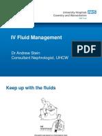 IV Fluid Management 03-18