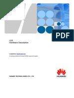 Huawei OptiX OSN 8800 Transponder Board LSX Hardware Description