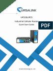 Ursalink UR52 Industrial Cellular Router Quick Start Guide