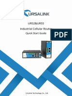 Ursalink UR52 Industrial Cellular Router Quick Start Guide