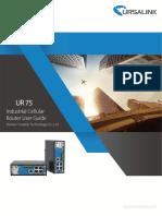 Ursalink UR75 Industrial Cellular Router User Guide