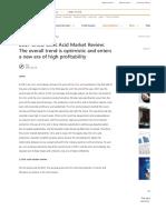 2017 China Citric Acid Market Review_ Tt