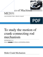 Slider Crank Mechanism