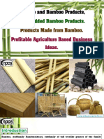 Bamboo and Bamboo Products, Value-Added Bamboo Products