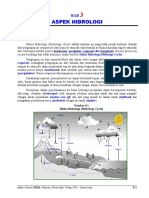 Bab 3 Aspek Hidrologi