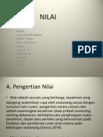 NILAI (etika keperawat)