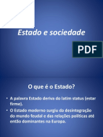 Estado e Sociedade