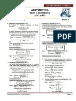 Aritmetica 2 Año Tema 5 Promedios
