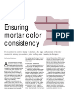 Masonry Construction Article PDF_ Ensuring Mortar Color Consistency