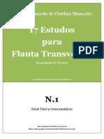 17 Estudo para Flauta, N. 1 - Nilson Mascolo & Cinthia Mascolo.pdf